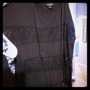 Lane Bryant Cold shoulder shirts